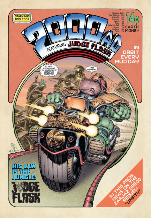 Special 2000AD x Elephantmen issue for Thought Bubble