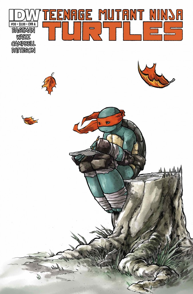 The IDW TMNT-verse is quickly developing  a rich and detailed legacy of its own.