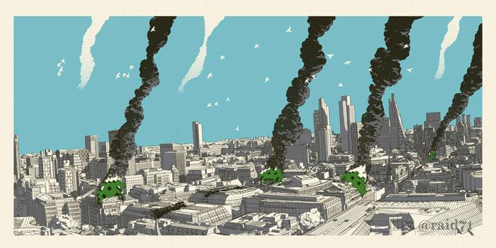 RAID71 city