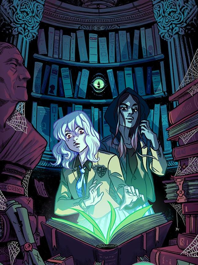 Gotham Academy #2, Cloonan variant, 2014