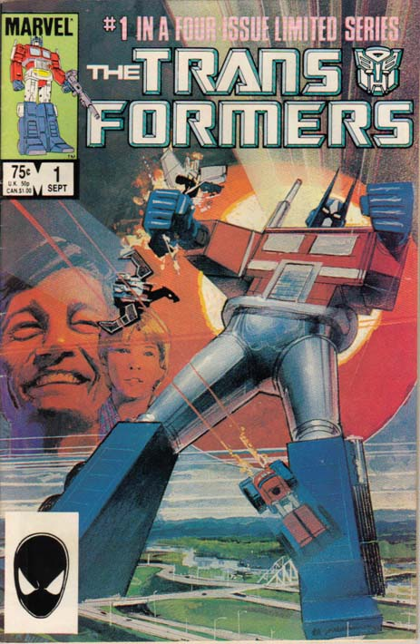 Transformers #1, 1984